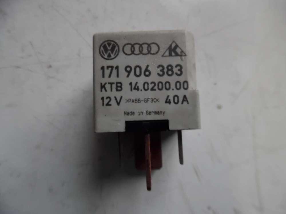 VW Polo 6N Relai Saugrohrvorwärmung 171906383