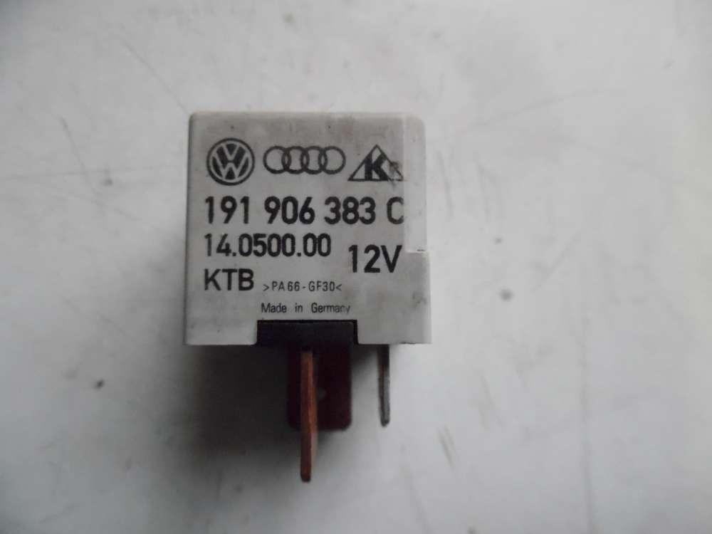 VW Polo 6N Kraftstoffpumpen Relais 167 191906383C