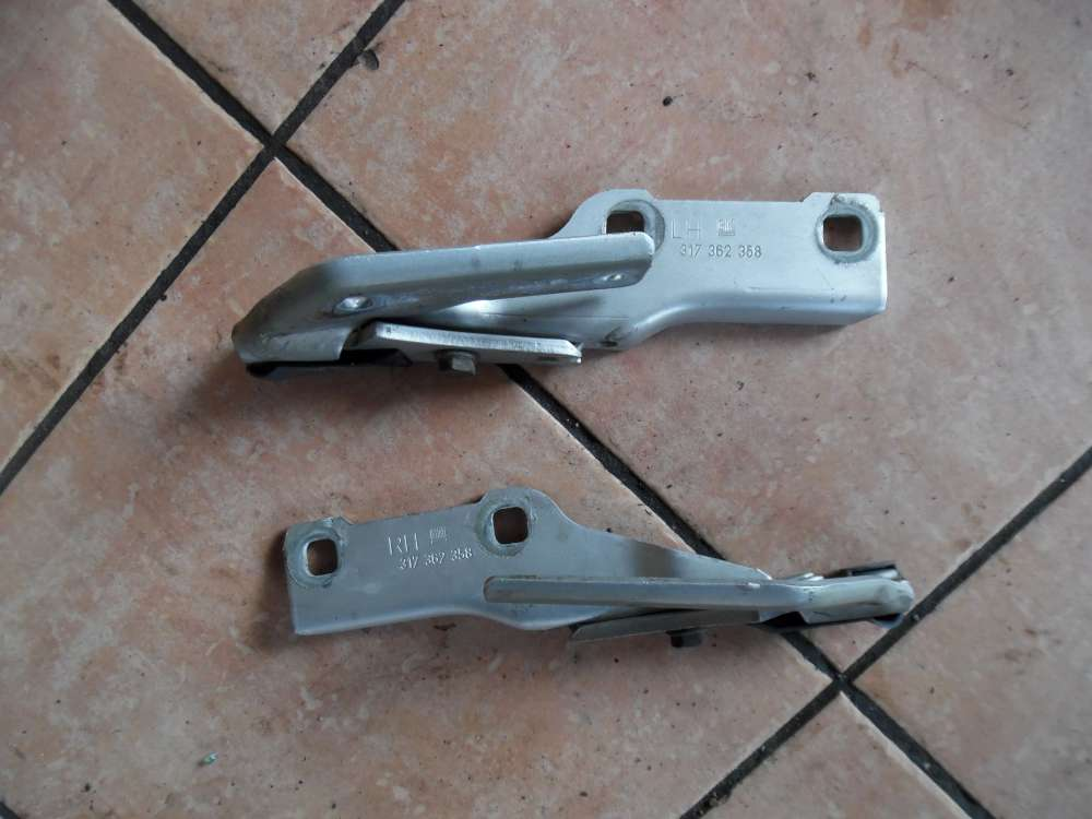 Opel Omega B Motorhaubenscharniere Scharniere 317362358