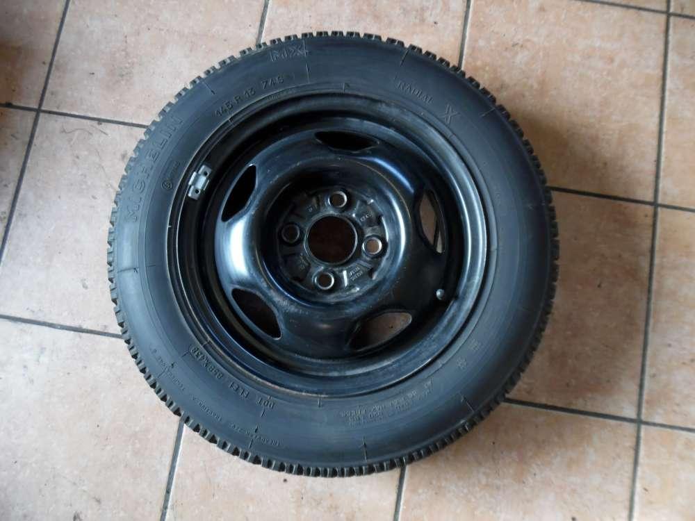 Ersatzrad Michelin VW Polo 86C 145R1374S  867601025 ET45 4.5JX13H2