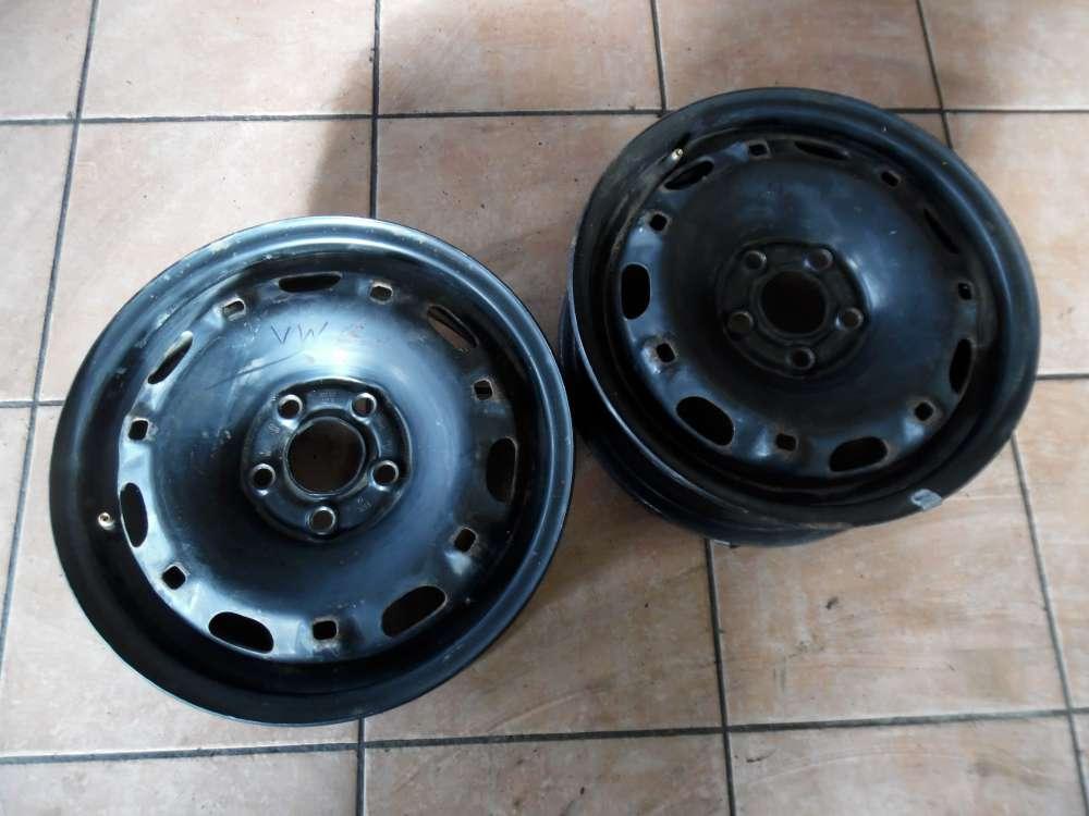 2 x Stahlfelge VW  5Jx14H2  ET35  6Q0601027R