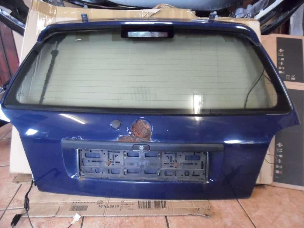 VW Golf III Heckklappe Heckdeckel dunkelblau : LA5E