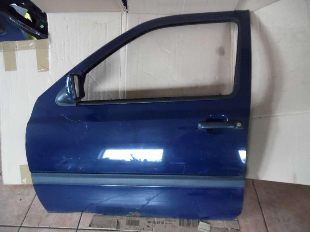 VW Golf III Tür Vorne Links dunkelblau : LA5E