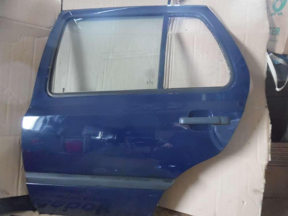 VW Golf III Tür Hinten Links dunkelblau : LA5E