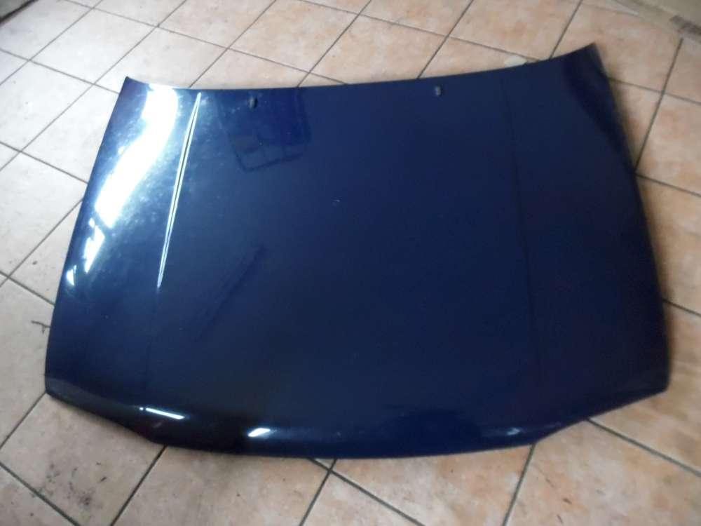 VW Golf III Motorhaube dunkelblau : LA5E