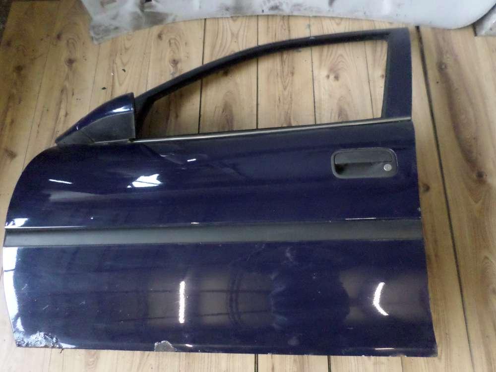 Opel Vectra B Kombi Bj 1998 Tür Vorne Links Dunkelblau Farbcode: Y269