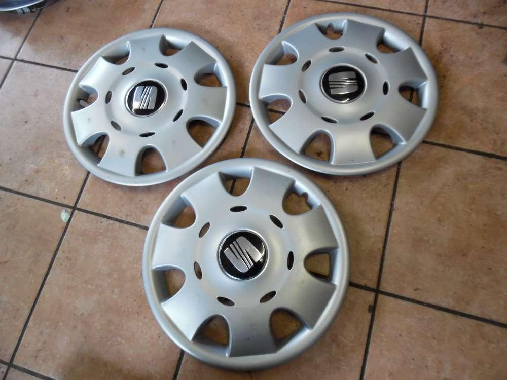 Seat Ibiza Toledo Leon Radkappen 14 Zoll 6L0601147 C