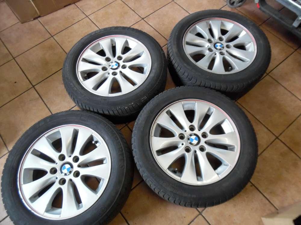 4x Alufelgen mit Winterreifen BMW Semperit 205/55R16 91T 6,5x16 IS42 6779786