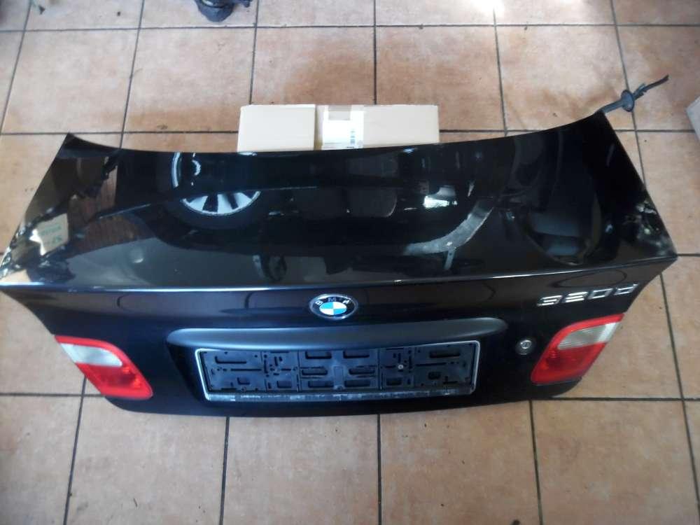 BMW E46 320d Limousine Heckklappe Schwarz : 303/9