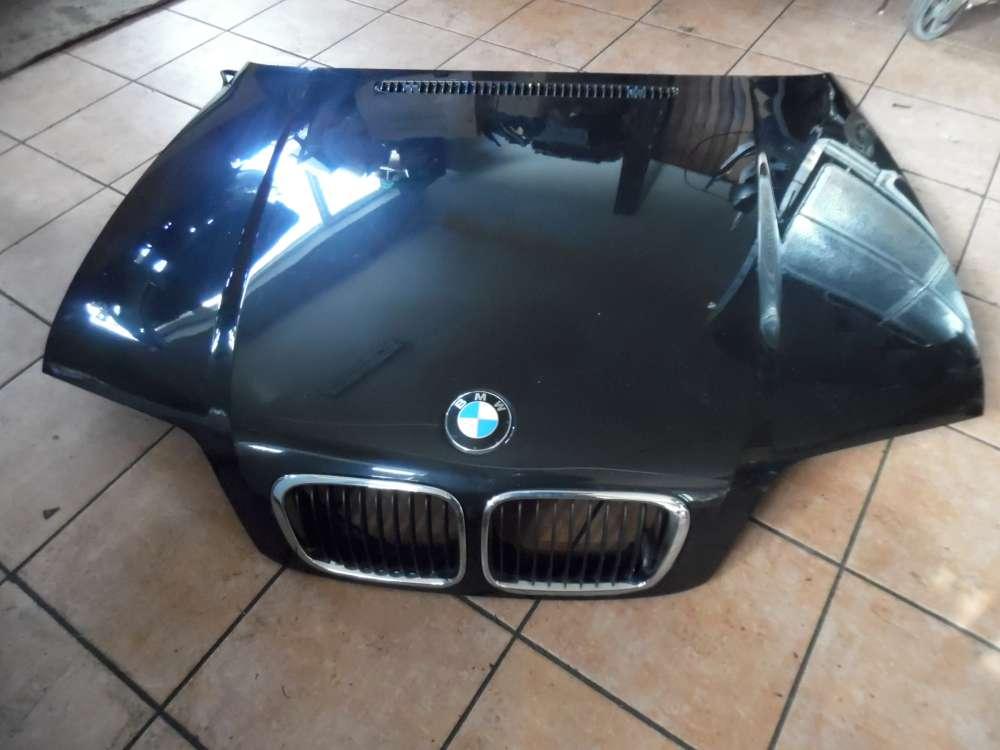BMW E46 320d Motorhaube Schwarz Farbcode : 303/9