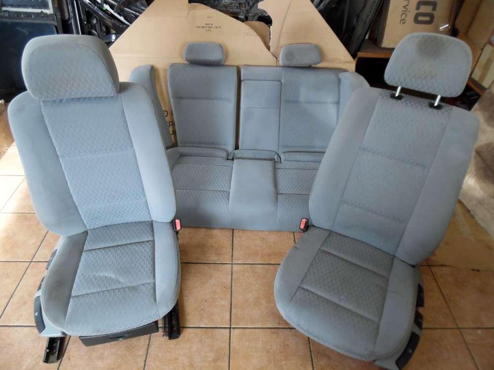 BMW E46 320d Sitze Innenausstattung Stoff grau