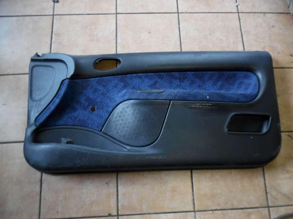 Peugeot 206 Türverkleidung Türpappe Vorne Rechts 9638327977