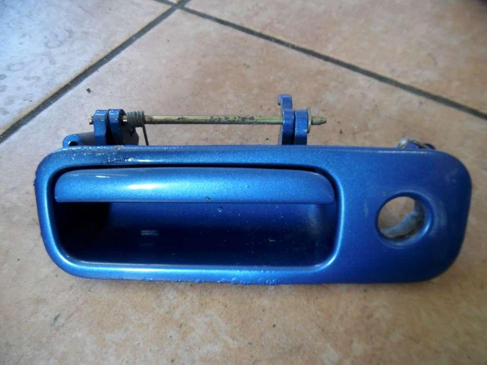 VW Golf IV 1J Heckklappengriff Griff blau Farbcod : LW5Y