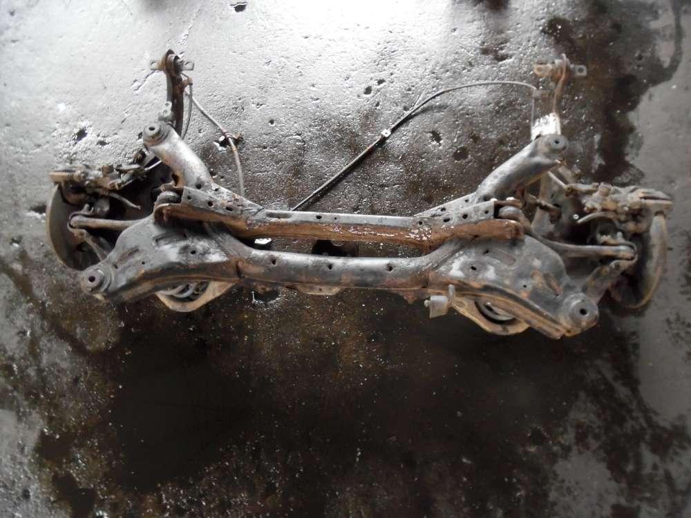 Mazda 626 Hinterachse Achsträger mit Bremssattel Stoßdämpfer