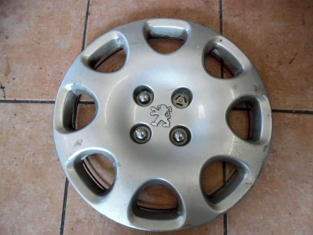 Peugeot 307 Radkappe Razierblende 15 Zoll 9637540880