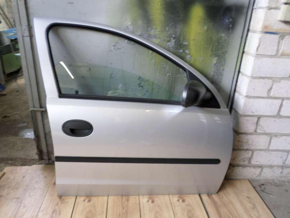 OPEL Corsa C Bj 2001 5-Türen Tür Vorne Rechts Beifahrertür