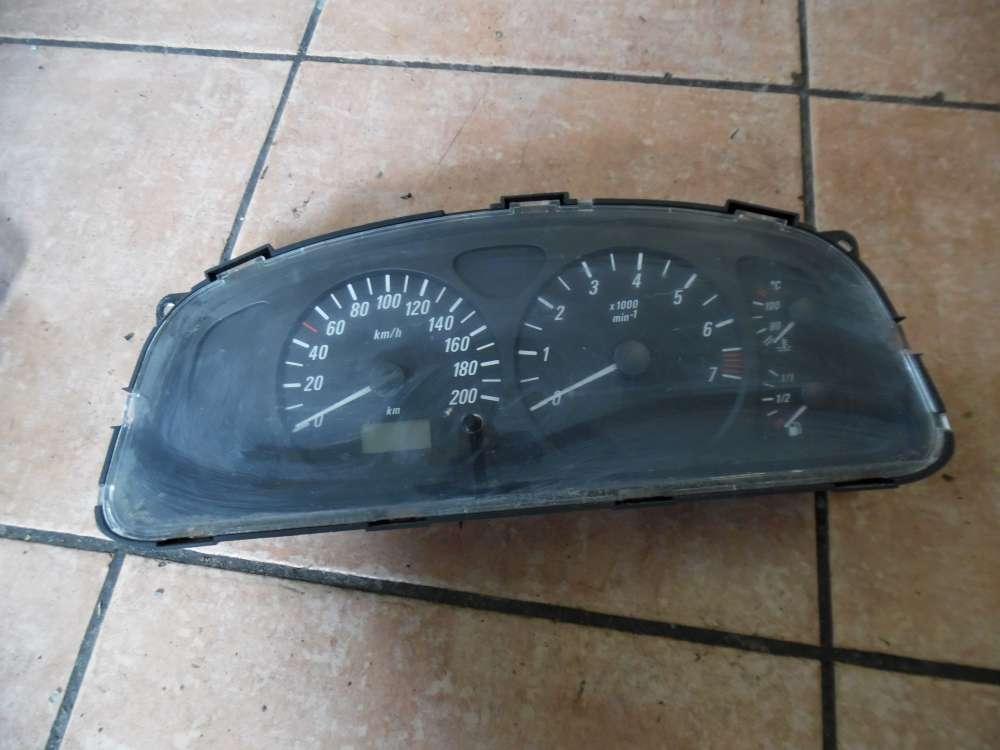 Opel Agila A Tacho Kombiinstrument 09204706
