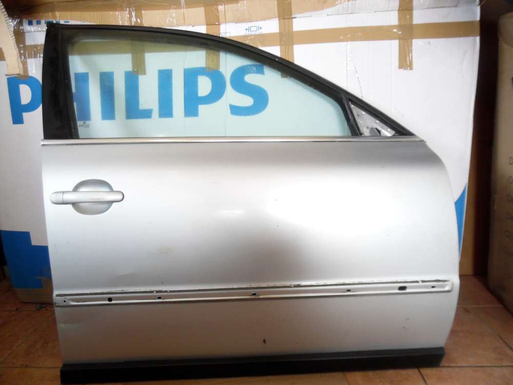VW Passat 3B Tür Vorne Rechts Silber