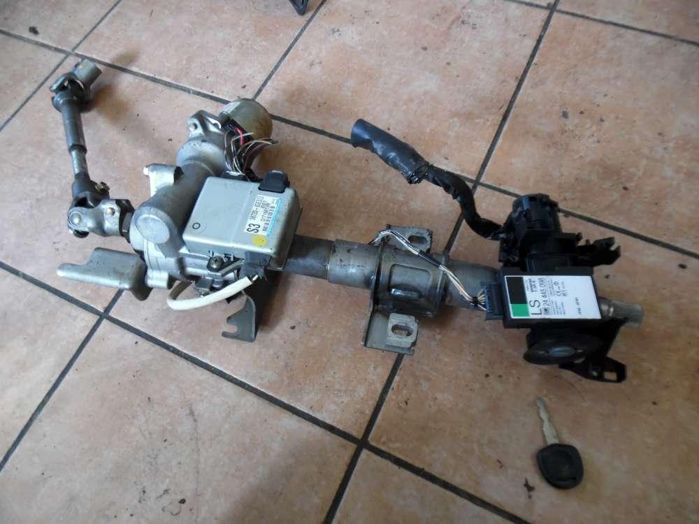 Opel Agila A Elektrische Lenksäule, Steuergerät Servo Zündschloss mit Schlüssel 24445098 38720-83E30 48200-83E64