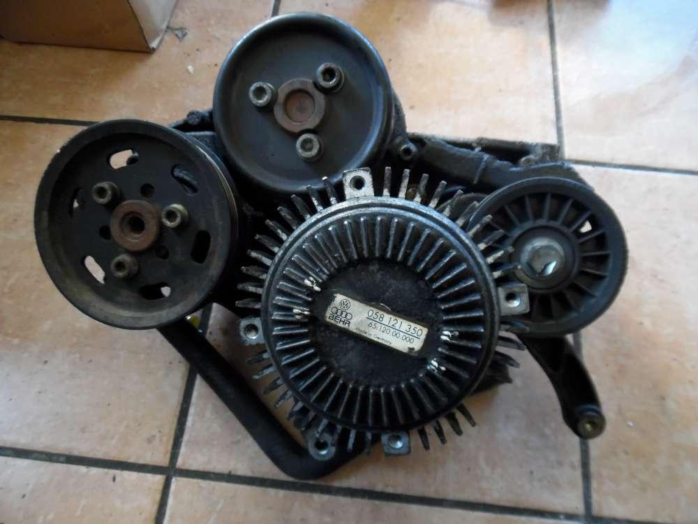Audi A4 B5 Halterung Lichtmaschine mit Viscolüfter 058121350 028903143A