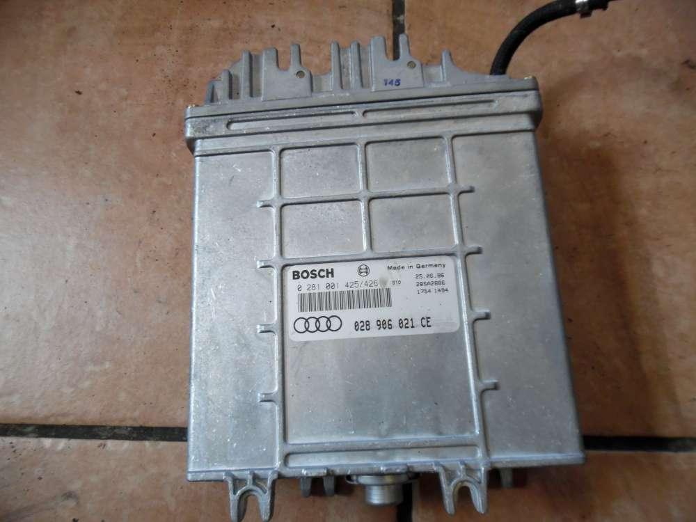 Audi A4 B5 Motorsteuergerät 028906021CE Bosch 0281001425426