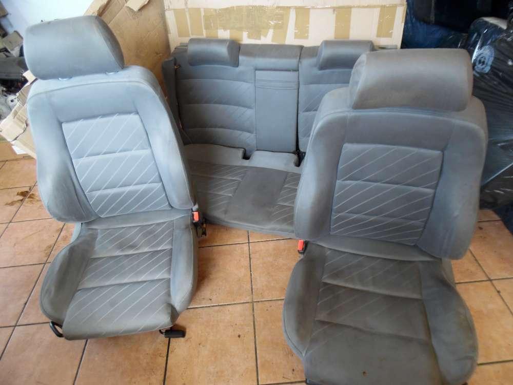Audi A4 B5 Sitze Innenausstattung grau Stoff