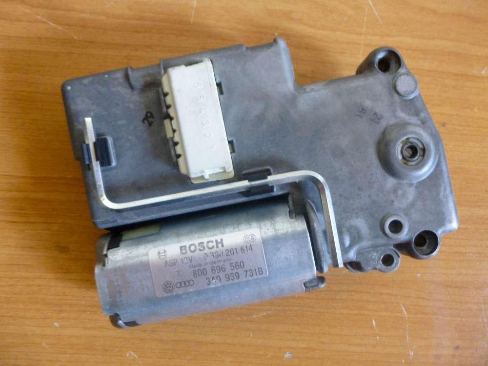 VW Golf III Schiebedachmotor BOSCH 0390201650 / 3A0959731B / 800696560