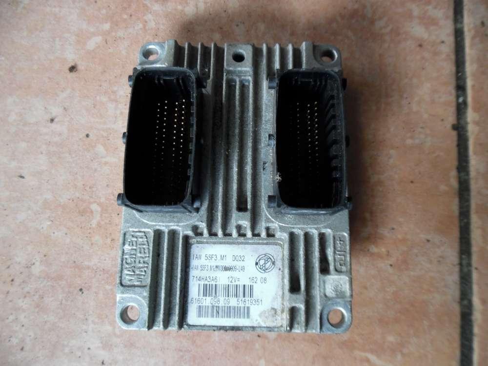 Fiat Punto Motorsteuergerät 51819351