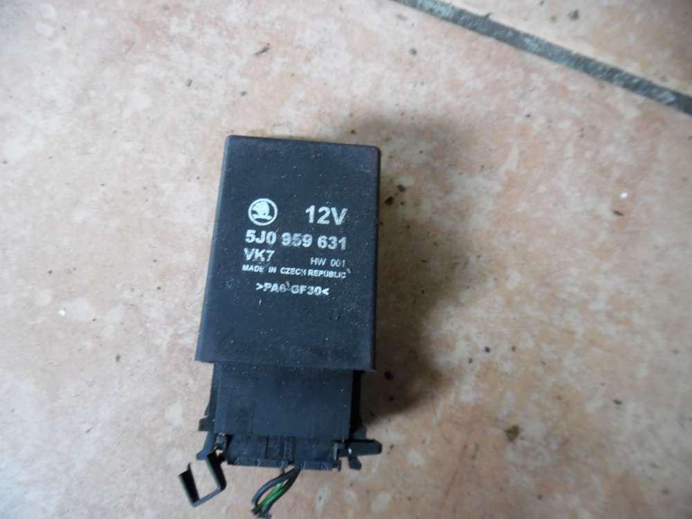 Skoda Fabia 5J Steuergerät Airbag 12V 5J0959631