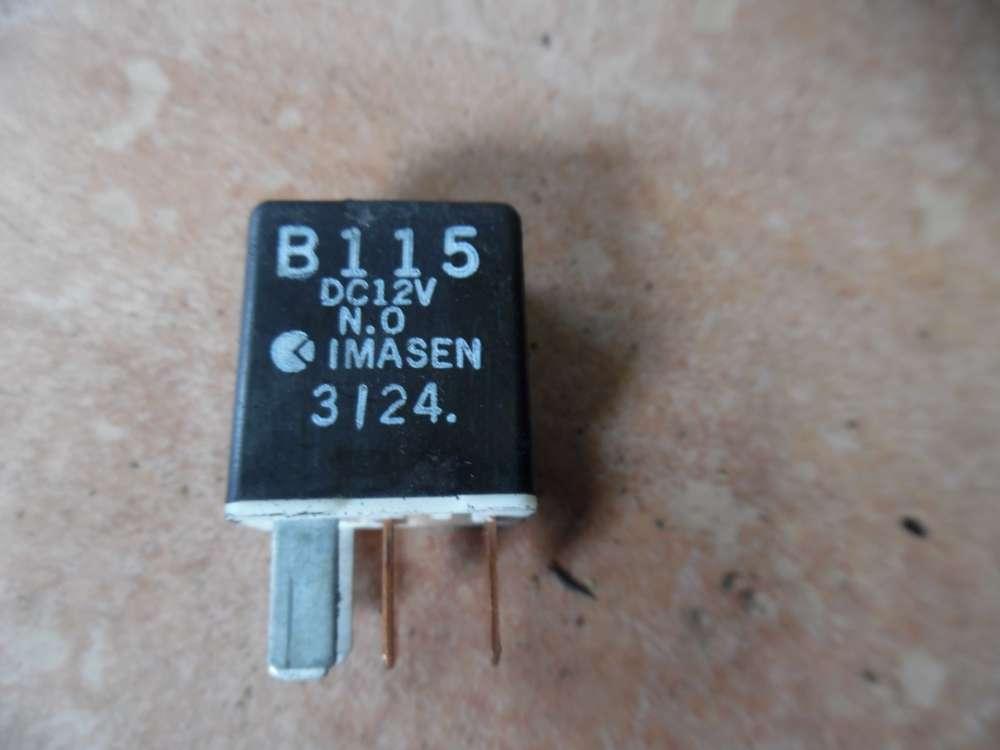 Mazda B115 Relais DC12V IMASEN schwarz