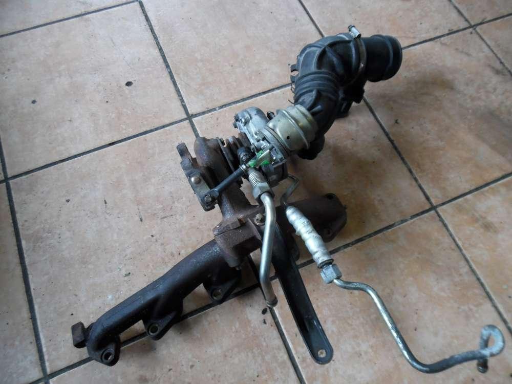 Opel Zafira A 2.0DTi Abgaskrümmer Krümmer 90500926 Turbolader Turbo 90570508 Luftmassenmesser LMM 0281002180