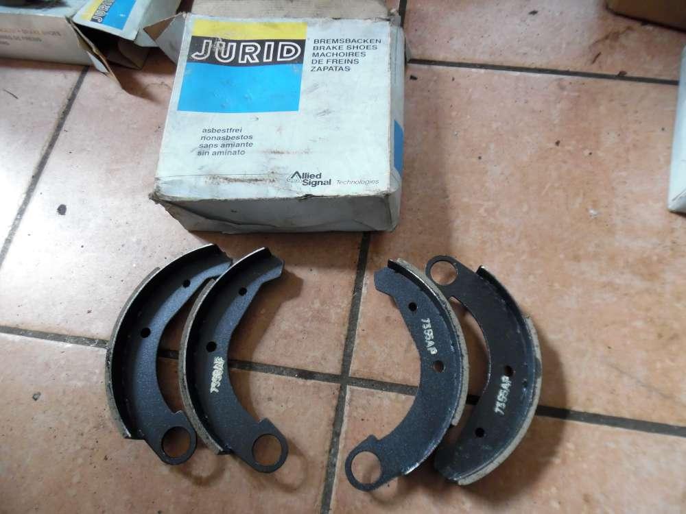 Citroen Bremsbackensatz Bremsanlage Hinterachse 2830085