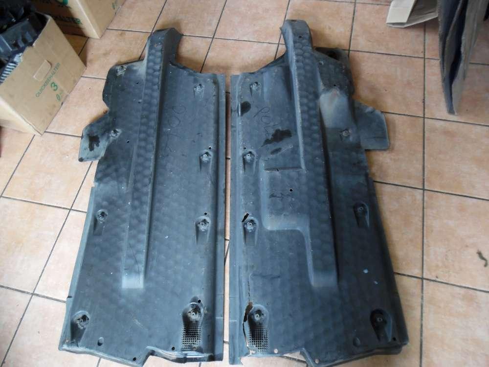 VW Polo 9N Unterbodenschutz Verkleidung Unterboden 6Q0825202 6Q0825201