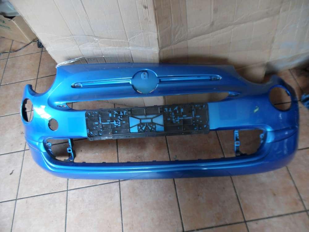Fiat 500 Stoßstange Vorne Blau 735619476
