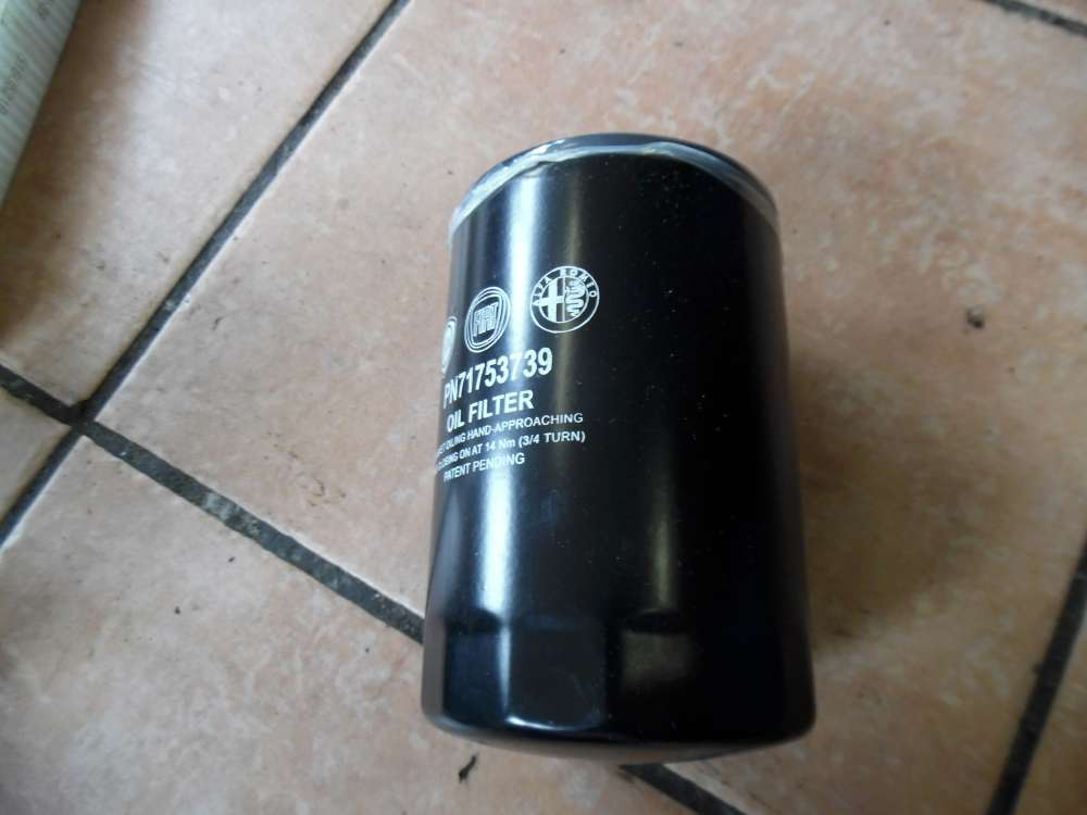 Alfa Romeo Fiat Lancia Ölfilter Filter 71753739
