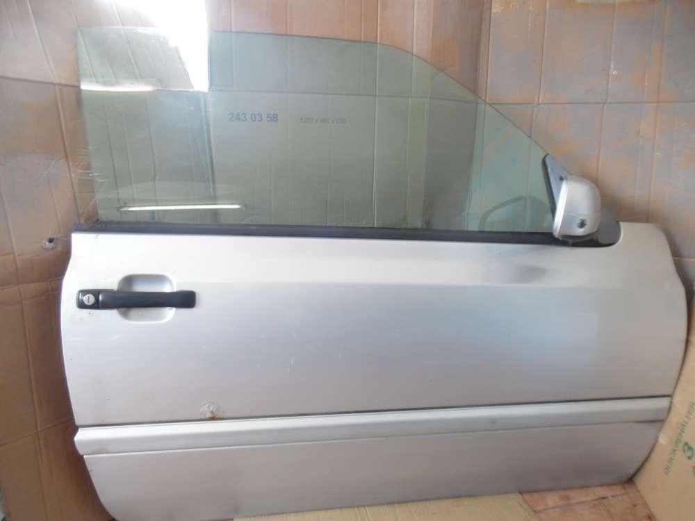 VW Golf III / IV Cabrio Türe Vorne Rechts Silber LA7W