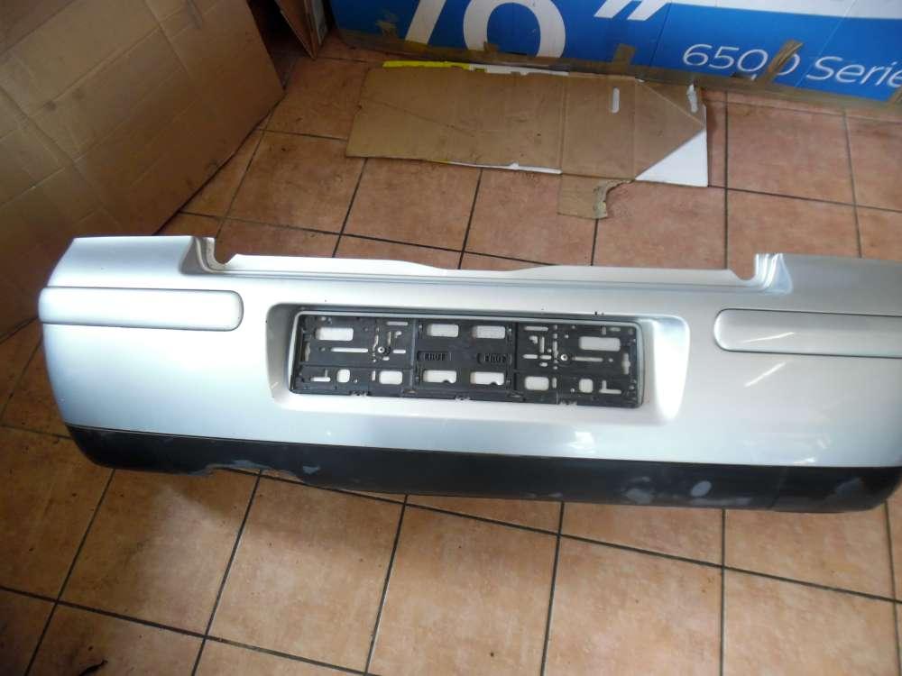 VW Golf III / IV Cabrio Stoßstange Hinten Silber LA7W