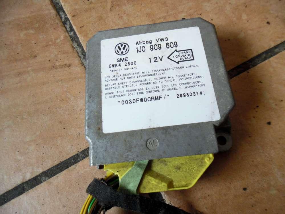 VW Golf IV 1J 1,6 Steuergerät Airbagsteuergerät 1J0909609