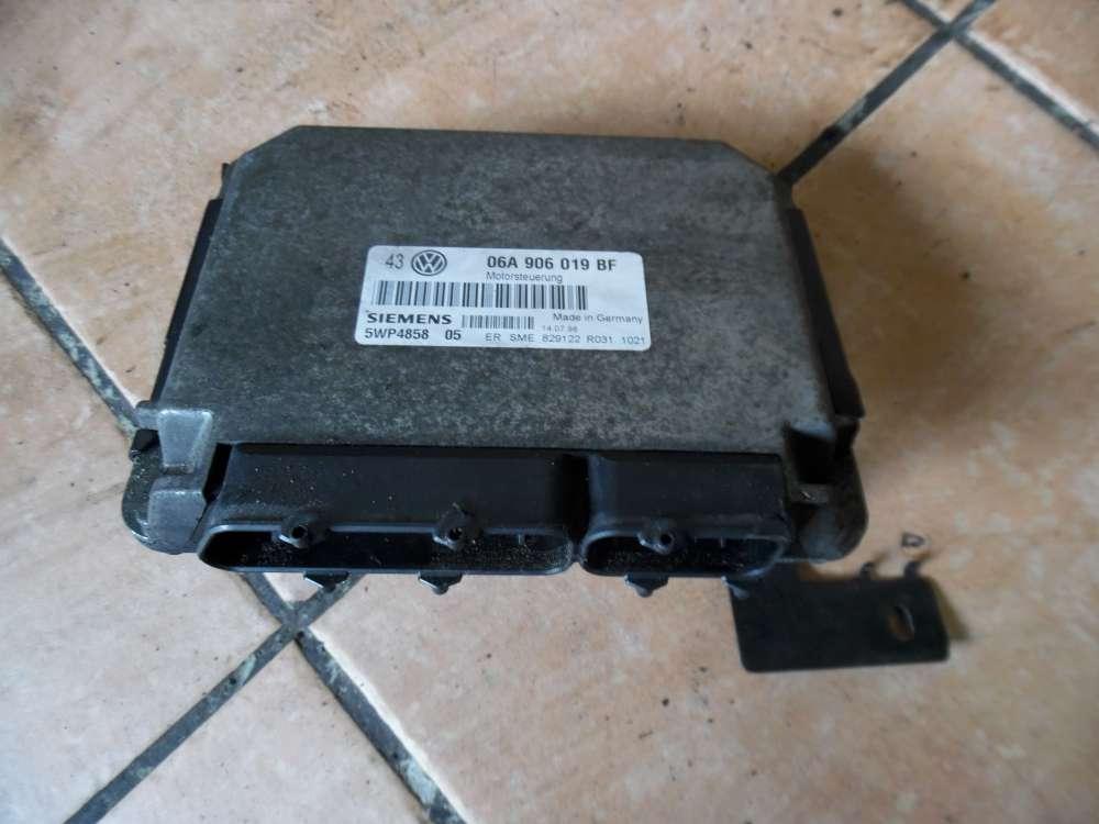 VW Golf IV 1J 1,6 Motorsteuergerät 06A906019BF Simens 5WP4858