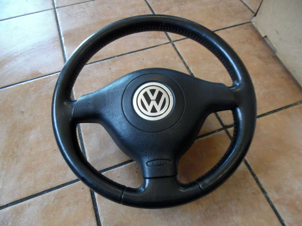 VW Golf IV 1J Lenkrad Lederlenkrad 1J0419091