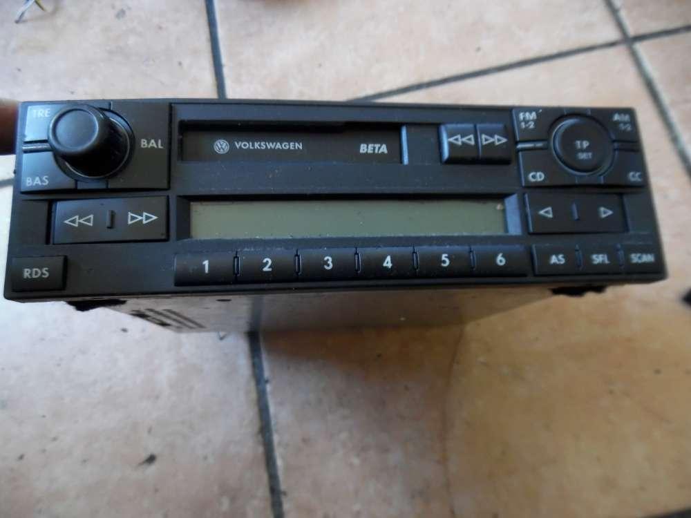 VW Golf IV 1J Autoradio Radio Kassettenradio 1J0035152E
