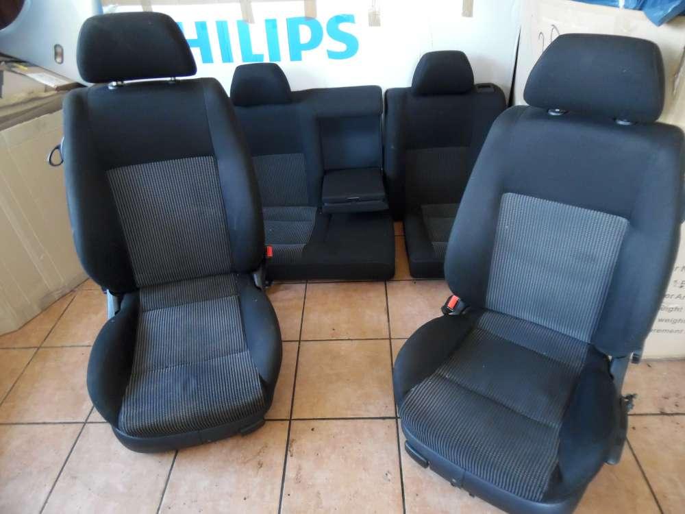 VW Golf IV 1J 3-Türer Sitze Innenausstattung Stoff Schwarz