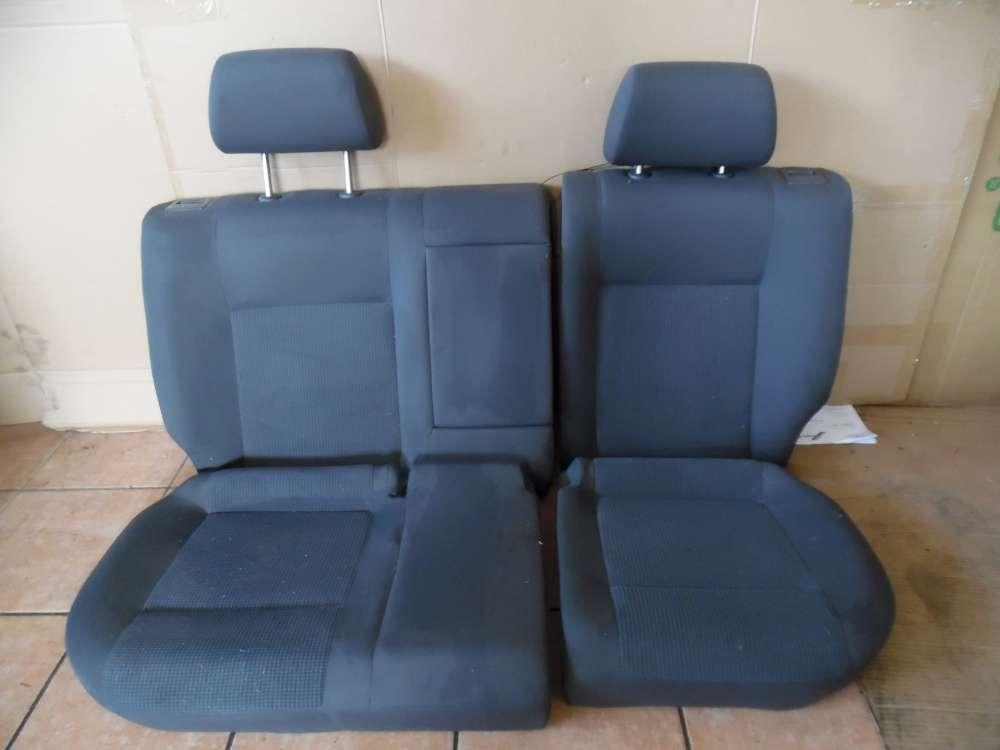 VW Polo 9N Sitze Rückbank Rücksitz Stoff grau