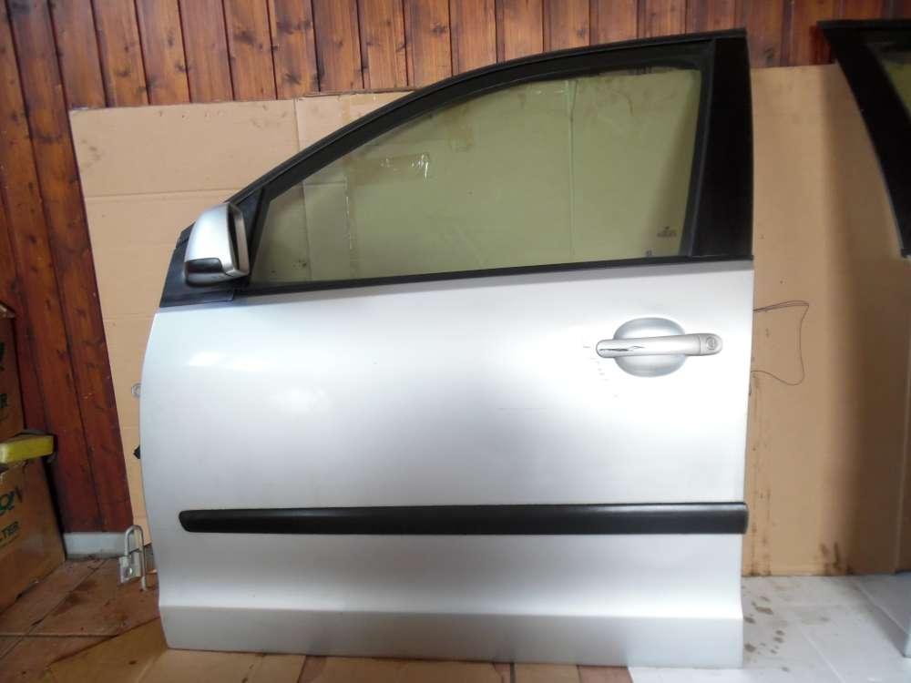 VW Polo 9N Tür Vorne Links grau