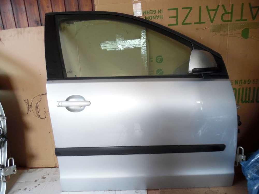 VW Polo 9N Tür Vorne Rechts grau