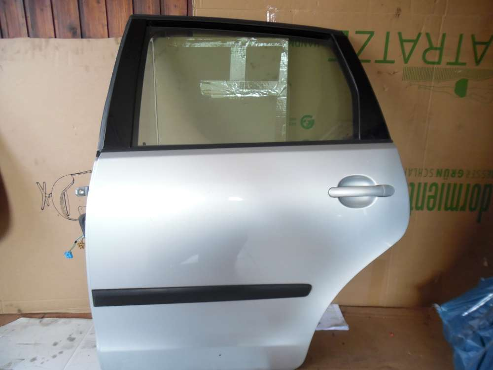 VW Polo 6N Tür Hinten Links grau