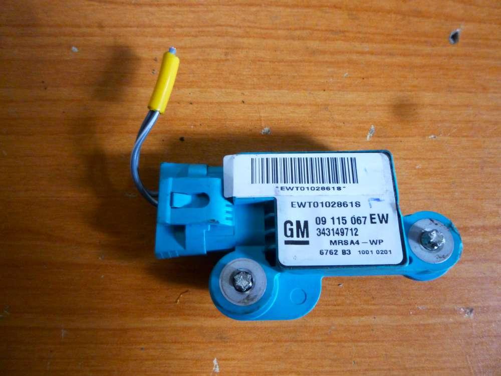 Opel Corsa C Airbagsensor Senser Links 09115067 EW 343149712