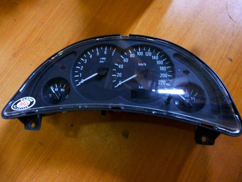 Opel Corsa C bj 2001 Tacho Kombiinstrument GM 87001384- 09166814FL