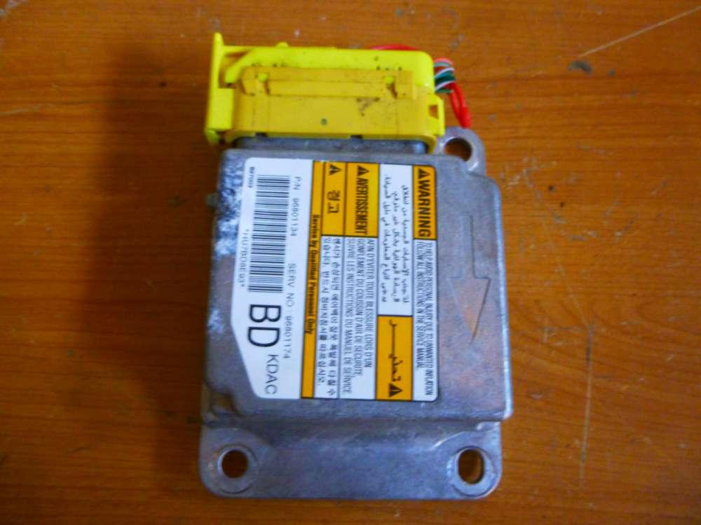 Chevrolet Matiz II Steuergerät Airbag 96801134 96801174 BD