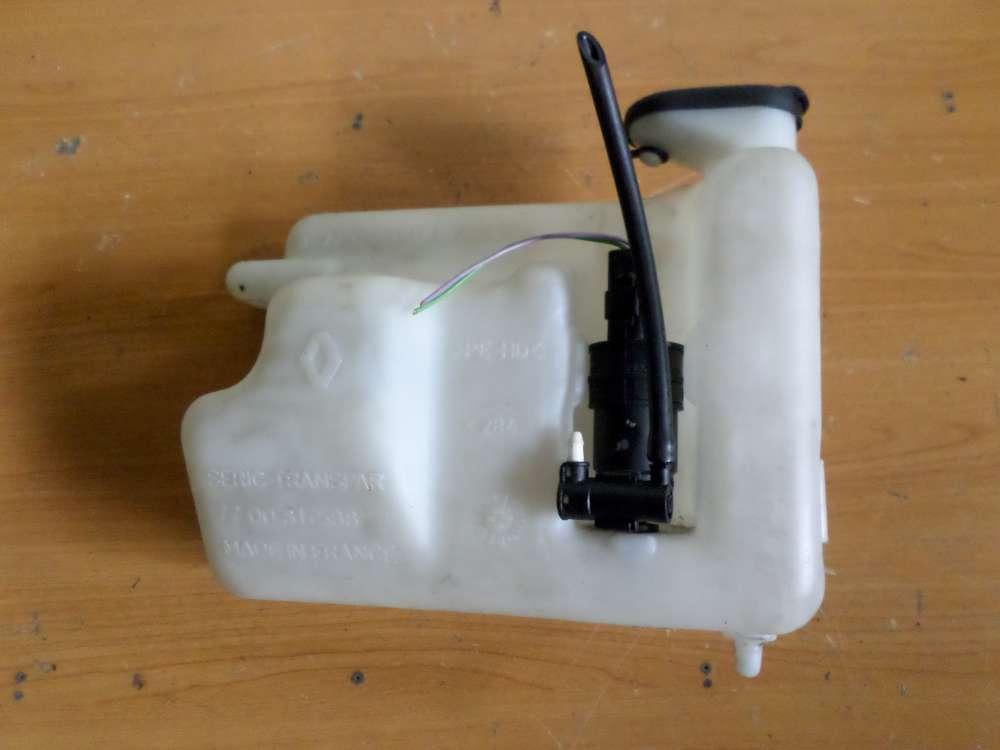 Renault Twingo  Scheibenwaschbehälter mit Pumpe  7701669817